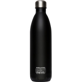 360° degrees Soda Insulated Drink Bottle 0.75 litres black